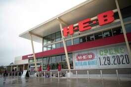 H-E-B Meyerland Market will open on Wednesday, fulfilling its promise to return to a neighborhood devastated by repeated flooding. The grocery store, which replaces one that flooded three times in as many years, features the San Antonio chain's largest kosher section to serve the hard-hit Jewish community in Meyerland. Exterior view of the store on Tuesday, Jan. 28, 2020, in Houston.