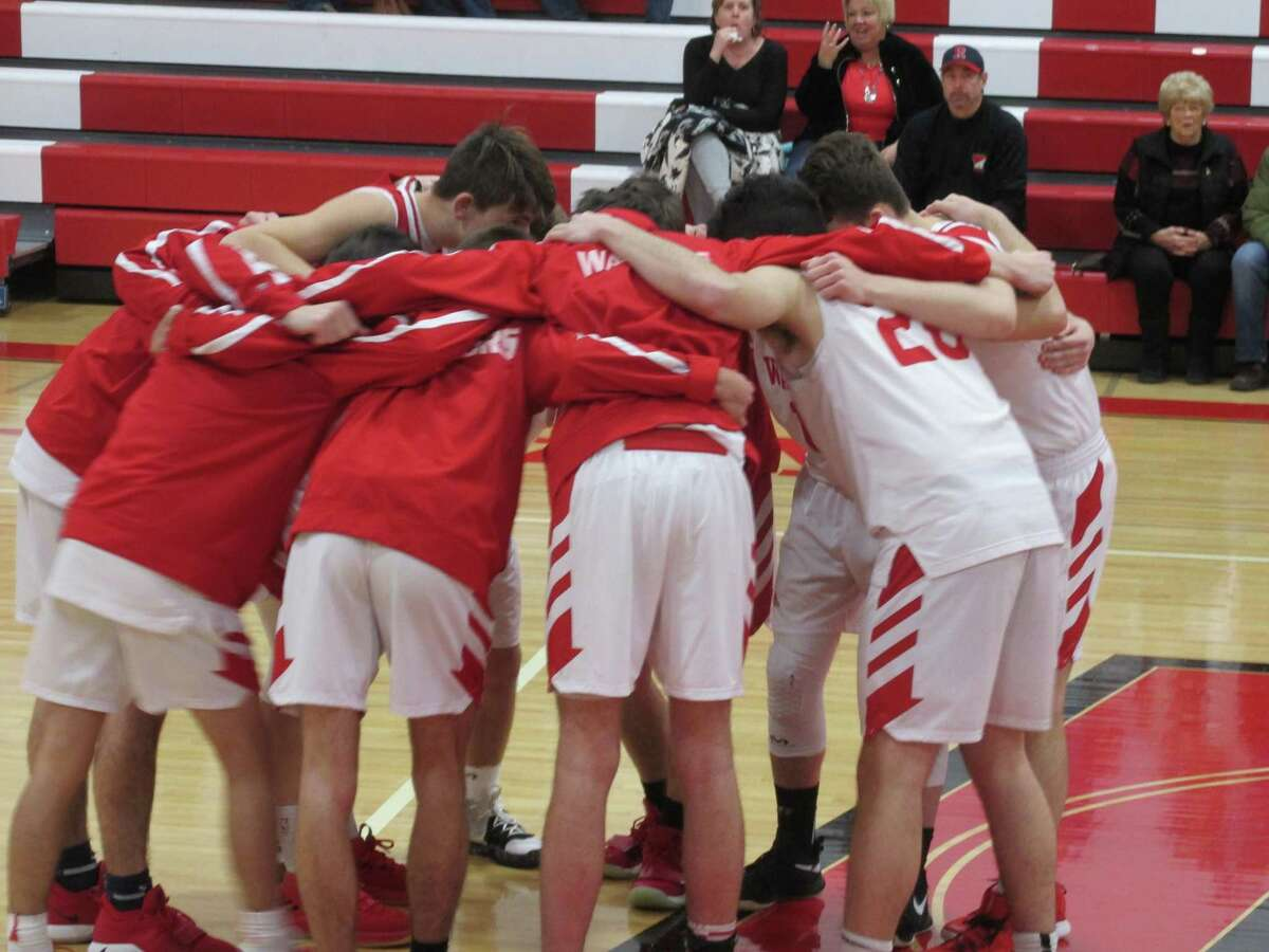 The Warriors hung together for Wamogo's defensive win over Nonnewaug at the top of the Berkshire League Tuesday night at Wamogo High School.