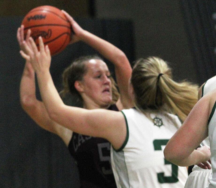 The Cass City girls basketball team edged host Laker, 51-47, on Tuesday, Jan. 28, 2020. Photo: Mark Birdsall/Huron Daily Tribune