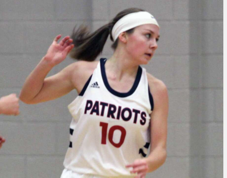 After a strong start to the contest, the USA girls basketball team ran into a second-half speed bump against Reese, which resulted in a 52-37 loss for the Patriots on Tuesday night. Photo: Tribune File Photo
