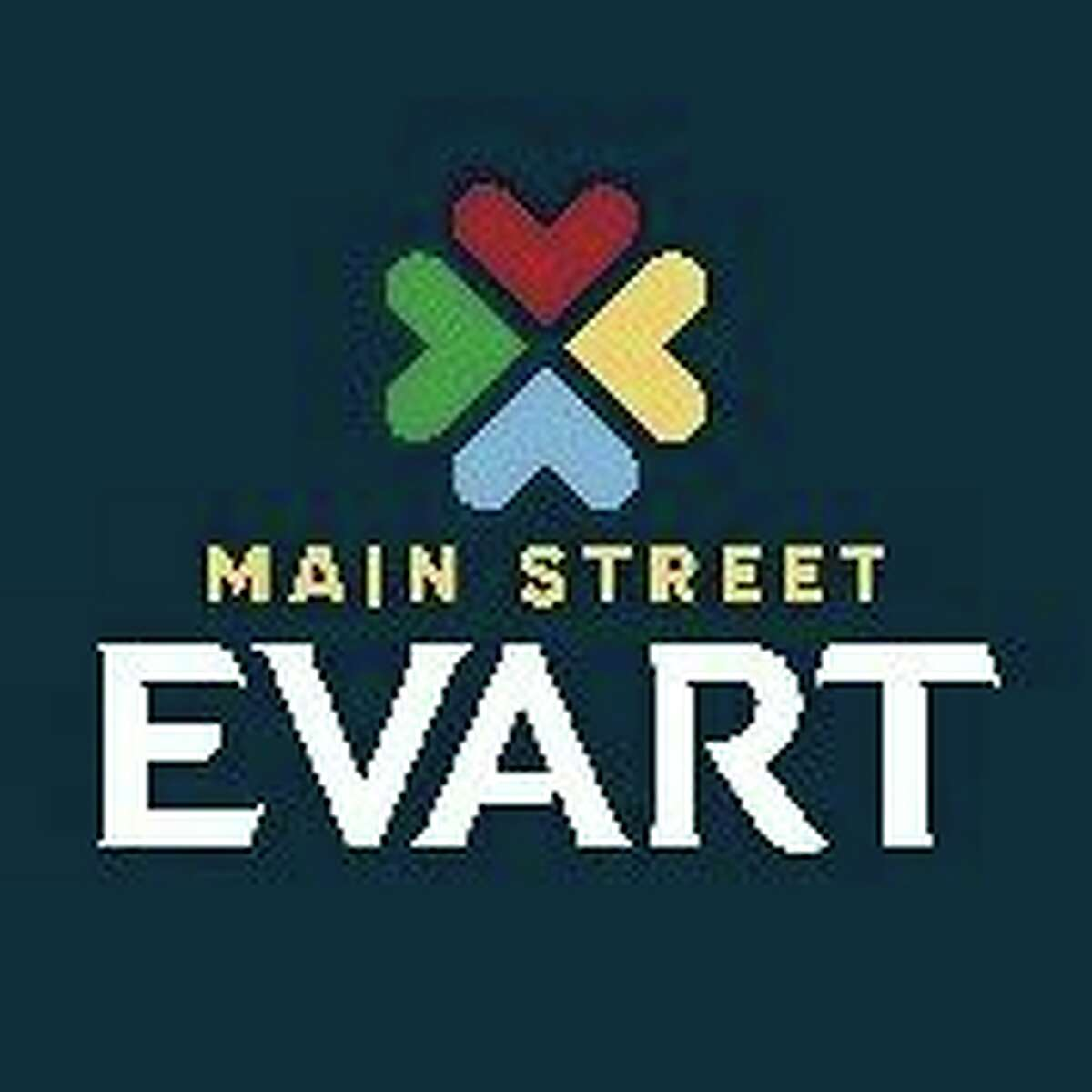 The Evart DDA is moving forward with Michigan Main Street program projects for 2020. Above is the newly designed logo for the DDA/MMS. (Submitted photo)
