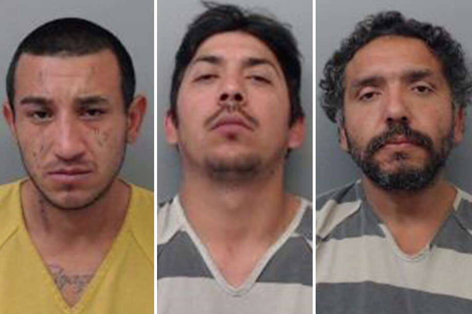 Three people landed behind bars accused of breaking into a vehicle, authorities said. Photo: Courtesy