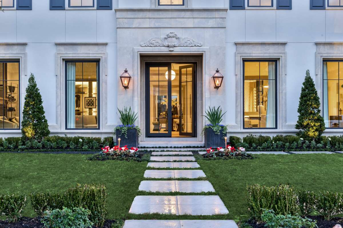 Situated on a 13,305 square-foot lot, the $5.75 million mansion is outfitted with a chef's kitchen, temperature-controlled wine room, media and exercise room and separate guest apartment.