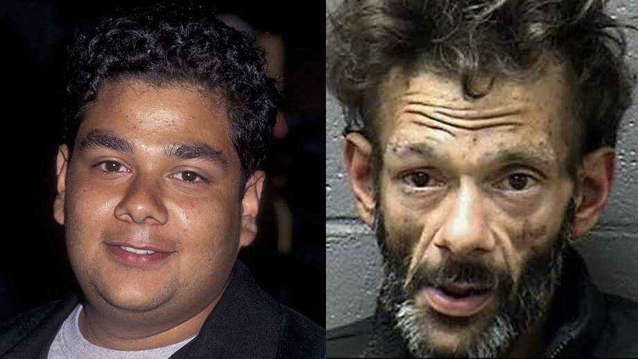 Shaun Weiss as a child actor, and after his arrest.