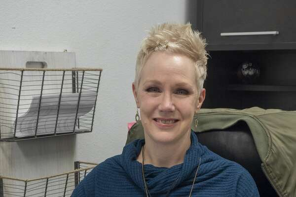 Lori Mosley, counselor at Goddard Junior High. 01/29/2020 Tim Fischer/Reporter-Telegram