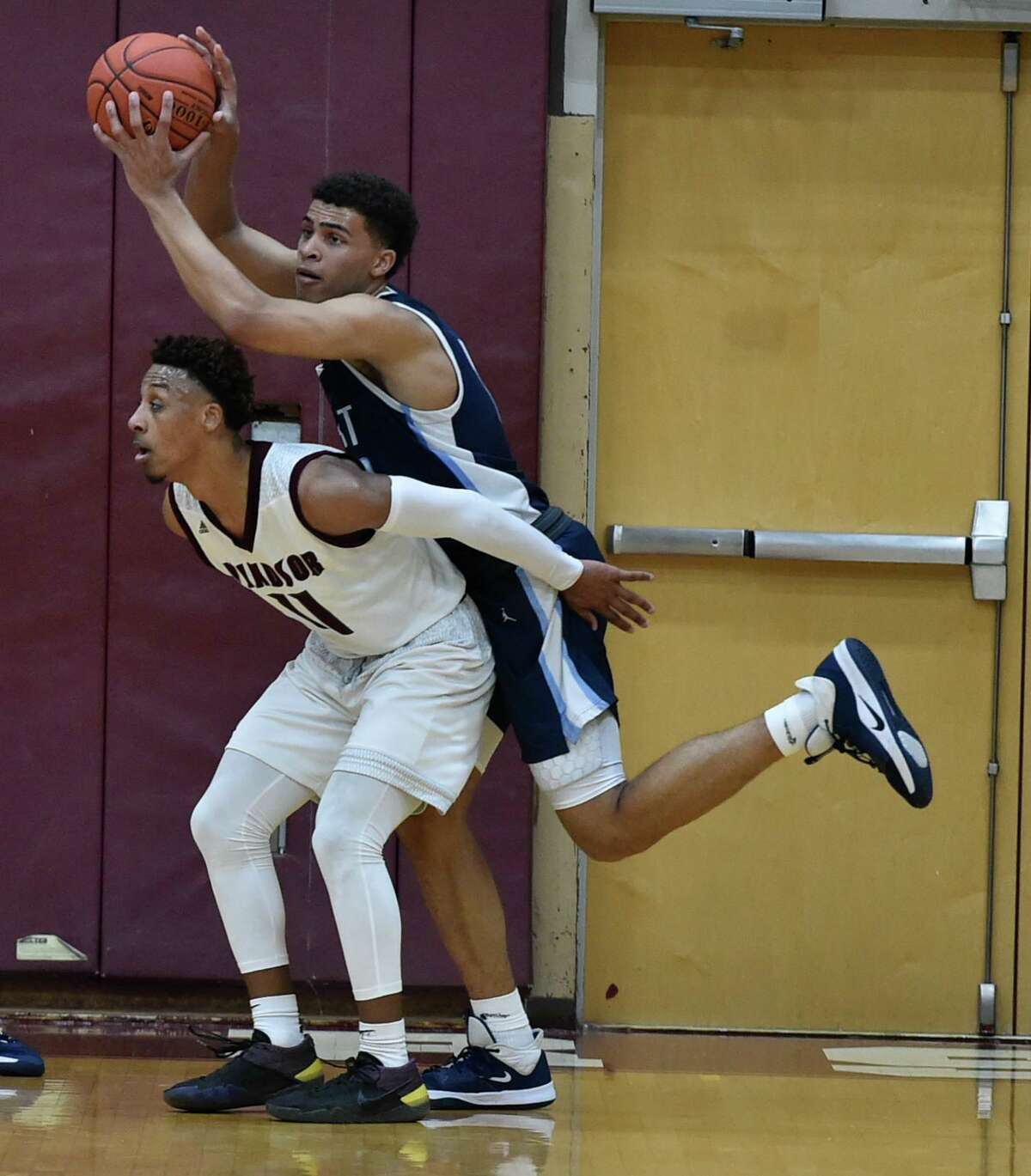 East Catholic's Matt Knowling in action against Windsor in January.