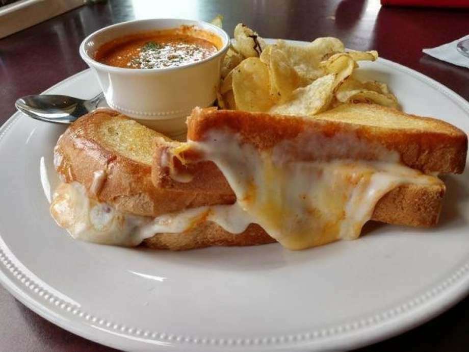 Gourmet Grilled Cheese sandwich at Mountain View restaurant, located at 4519 N. River Road in Freeland. Photo: Matthew Woods | For The Daily News