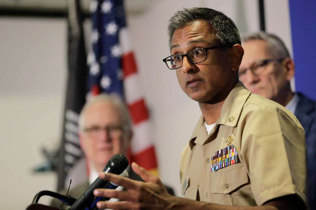 Dr. Satish Pillai, a medical officer with the U.S. Centers for Disease Control and Prevention, speaks Wednesday, Jan. 22, 2020, during a news conference in Shoreline, Wash. Pillai and other officials spoke about the ongoing response after a man in Washington state traveled to China and contracted the 2019 coronavirus. There are multiple factors that may prevent America from controlling the virus unless they are addressed now.
