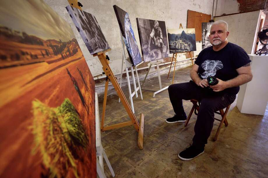 Local Artist Jerome Cabeen's photography work will be on display at the Museum of Southeast Texas.  Photo taken Wednesday, 11/6/19 Photo: Guiseppe Barranco/The Enterprise / Guiseppe Barranco/The Enterprise / Guiseppe Barranco ©