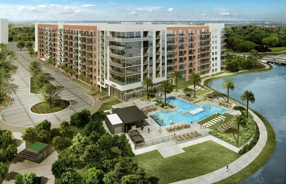 Howard Hughes Corporation has announced their first tenants for their new multifamily development at Two Lakes Edge. Photo: Courtesy Of Howard Hughes Corp,