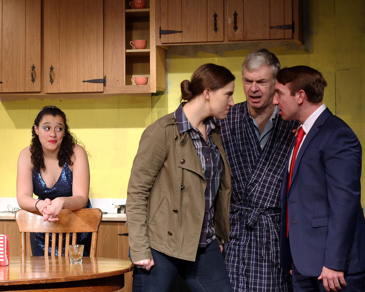 (from left to right) Siobhan Shea, Molly Waters, Joseph Bruton and Gabriel Hage in
