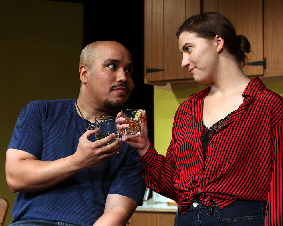 David Quinones and Molly Waters in