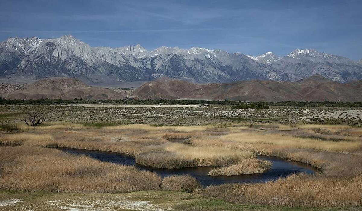 Under the new rule, the Clean Water Act's protections would no longer apply to most small streams and wetlands, including those that are considered vital parts of drinking-water systems and fisheries. Above is Owens Valley. (Brian van der Brug/Los Angeles Times/TNS)