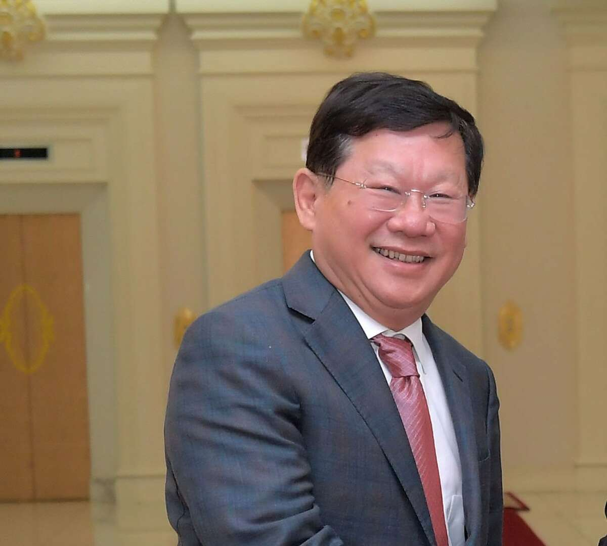 Pictured is Zhang Li, Chairman of Guangzhou R&F Properties, photographed in Phnom Penh, Cambodia, Jan. 4, 2017.