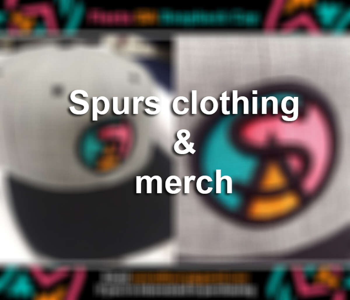 Spurs clothing and merchandise
