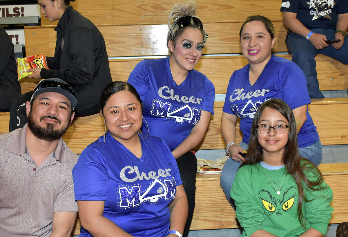 Students of Laredo participated in a cheer and dance competition at Texas A&M International University this Sunday.