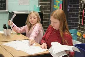 Fifth grade students in Taylor Johnson and Tanya Hunter's classes at Kennedy Elementary took part in the annual Great Mail Race this week. Fifth grade students in Taylor Johnson and Tanya Hunter's classes at Kennedy Elementary took part in the annual Great Mail Race this week.