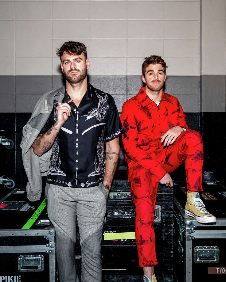 The Chainsmokers, Alex Pall and Drew Taggart, will headline this year's San Luis Salute hosted by the Fertitta family. Photo: Courtesy Of The Chainsmokers / Danilo Lewis
