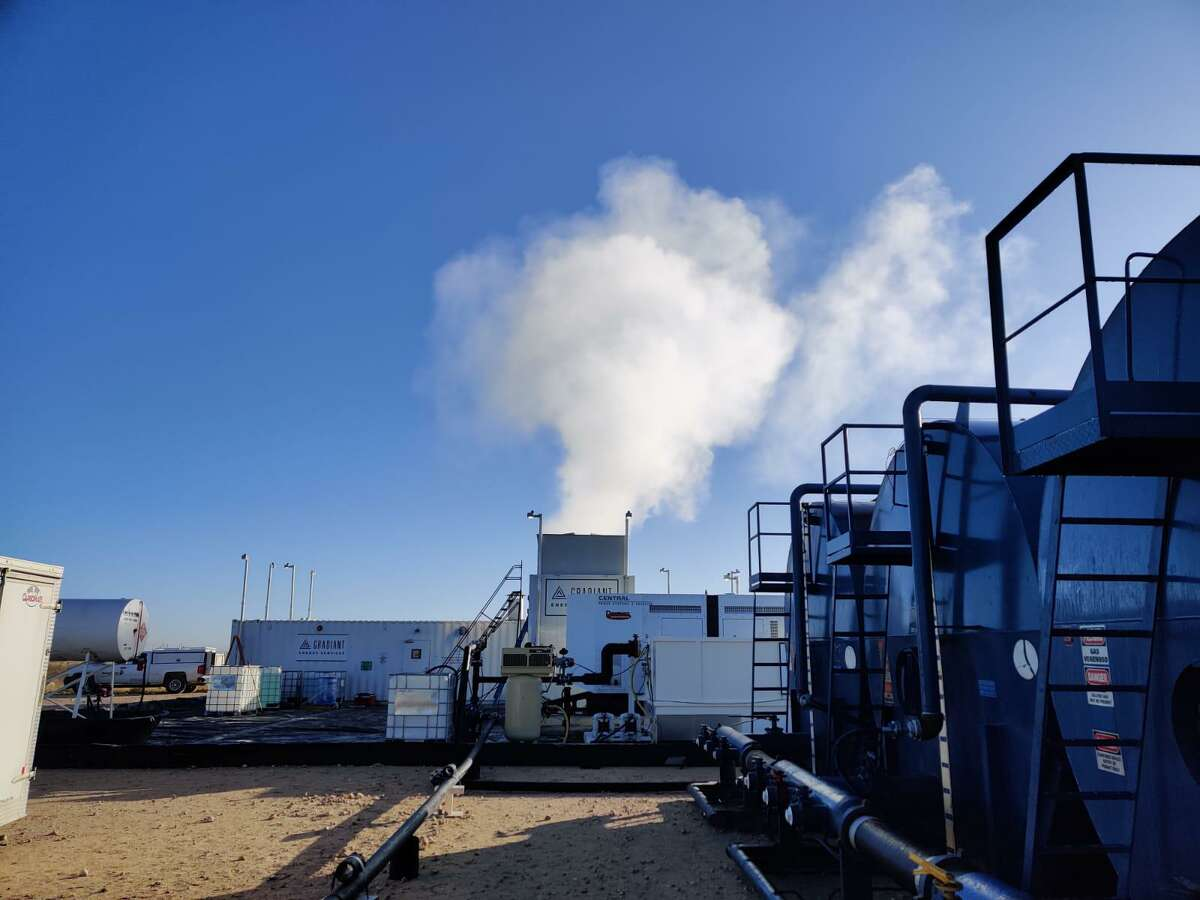 Denver oil field wastewater company Gradiant Energy Services successfully test equipment in the Permian Basin of West Texas that uses evaporation to reduce the amount of water that needs to be injected in disposal sites deep underground.