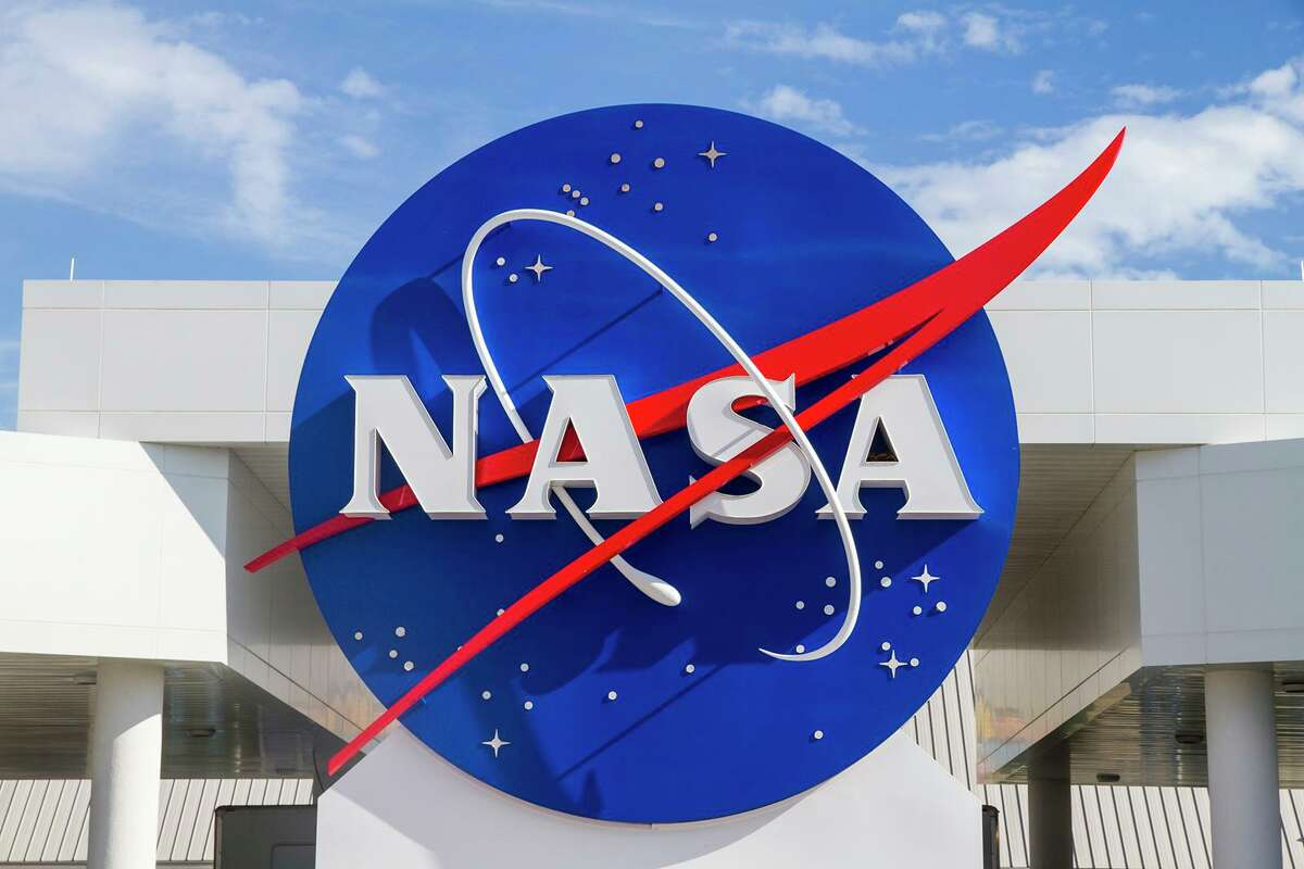The NASA sign at the entrance of Kennedy Space Center on Merritt Island, Florida. (Manfred Schmidt/Dreamstime/TNS)