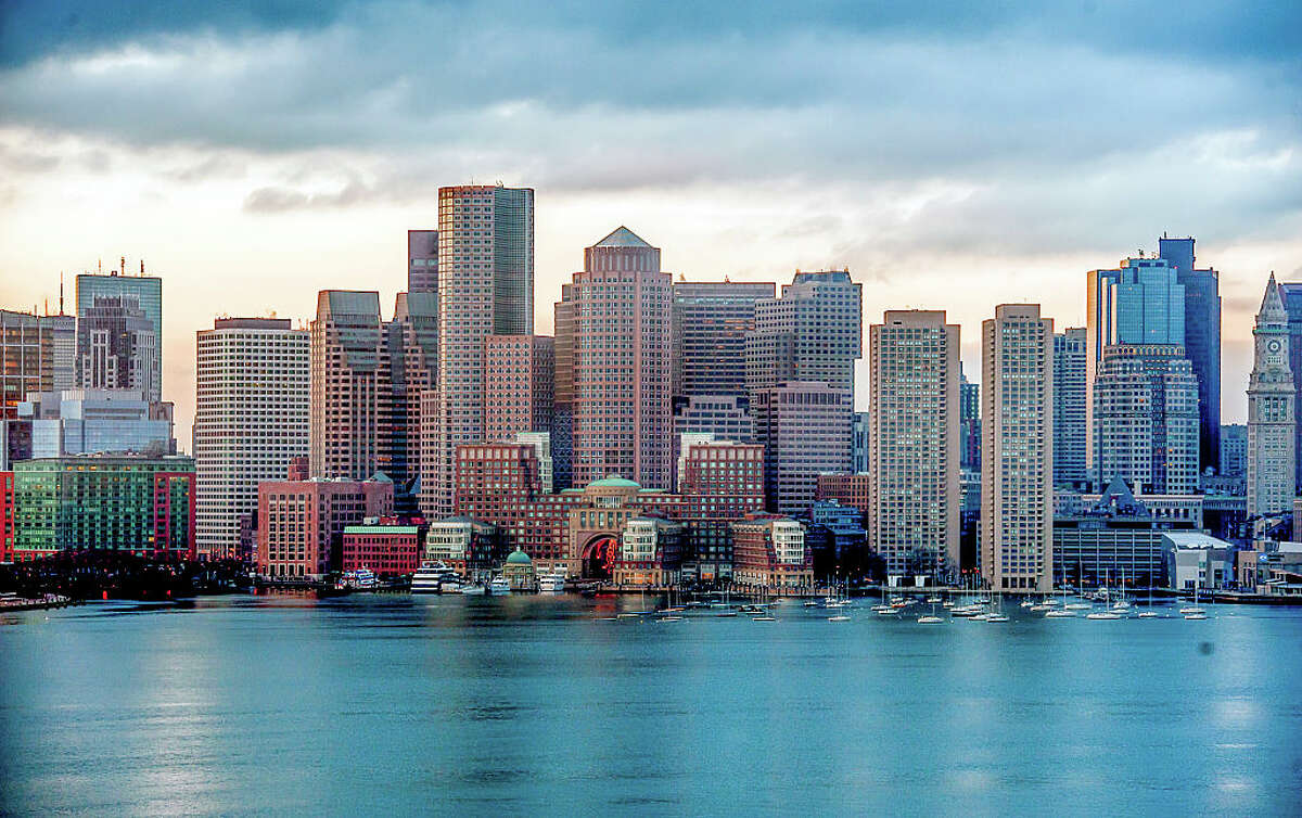 Massachusetts ranked second on the list of the richest states in the country, with a real per capita personal income of $59,919.