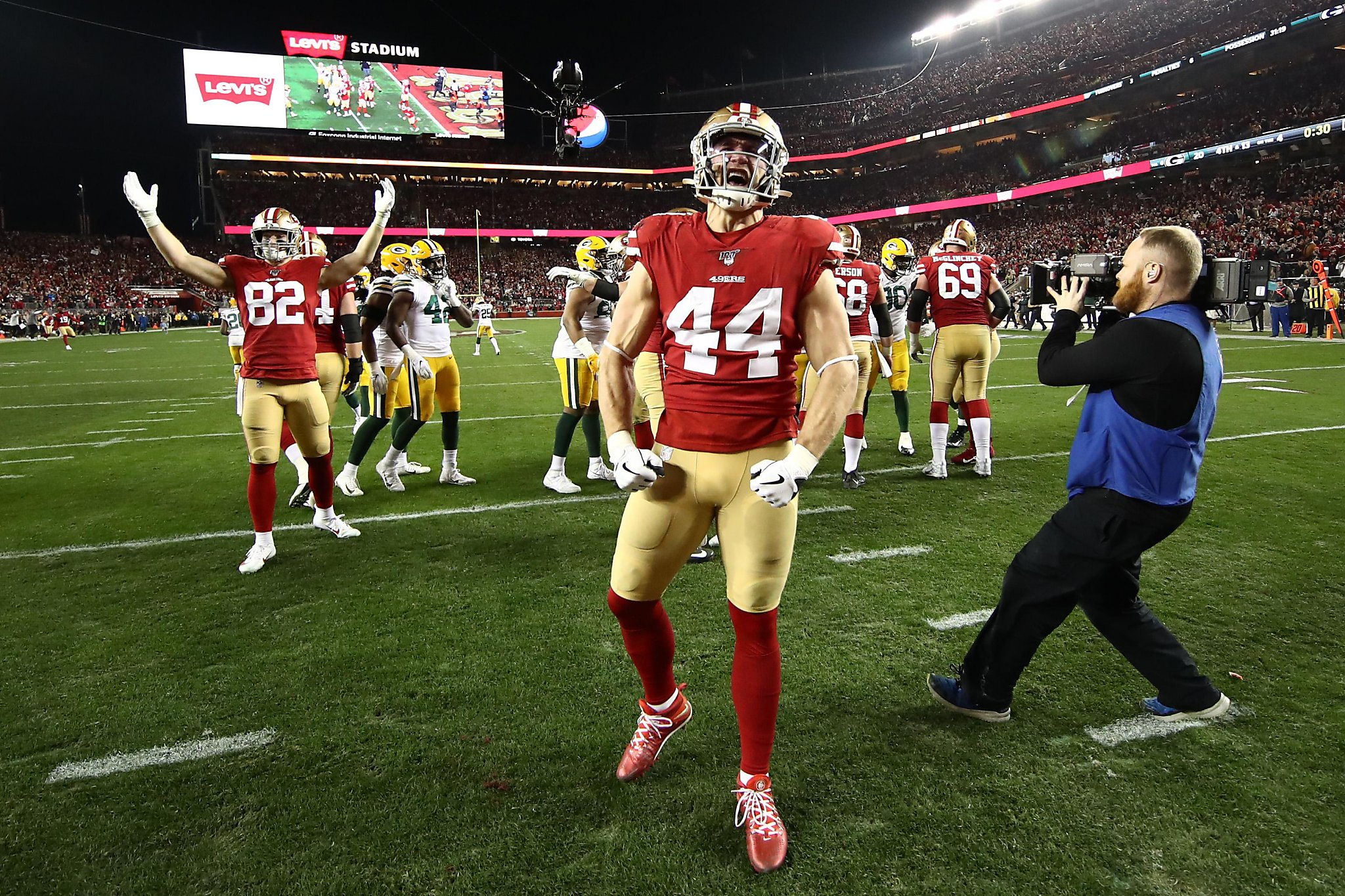 49ers fullback Kyle Juszczyk runs on `drive from...