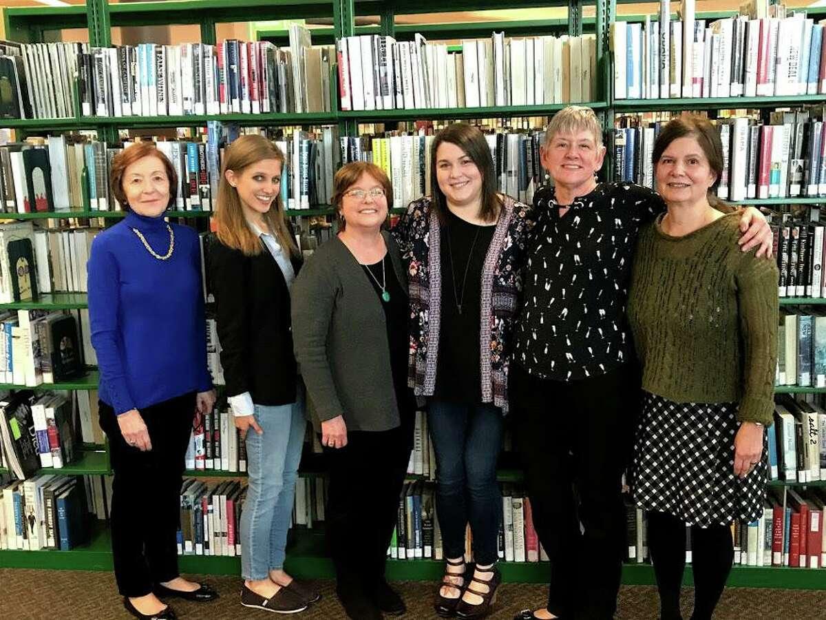 2020 Friends of the Milford Library BoardKathy Goldbach, Ashley Volkens, Pam Pilla, Margaret Downey, Arlene Painter, Paula Goncalves.