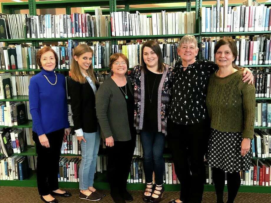 2020 Friends of the Milford Library BoardKathy Goldbach, Ashley Volkens, Pam Pilla, Margaret Downey, Arlene Painter, Paula Goncalves. Photo: Friends Of The Milford Library