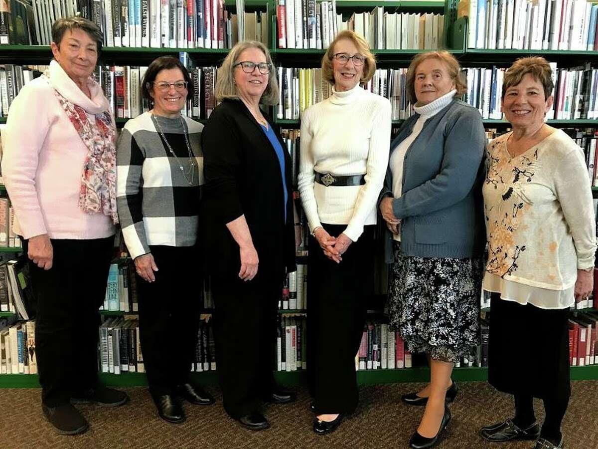Little Libraries CommitteeLinda Sheehan, Judy Salemme, Peggy Bolger,Lois Barr,MarilynMay, Rhea Spiegel.