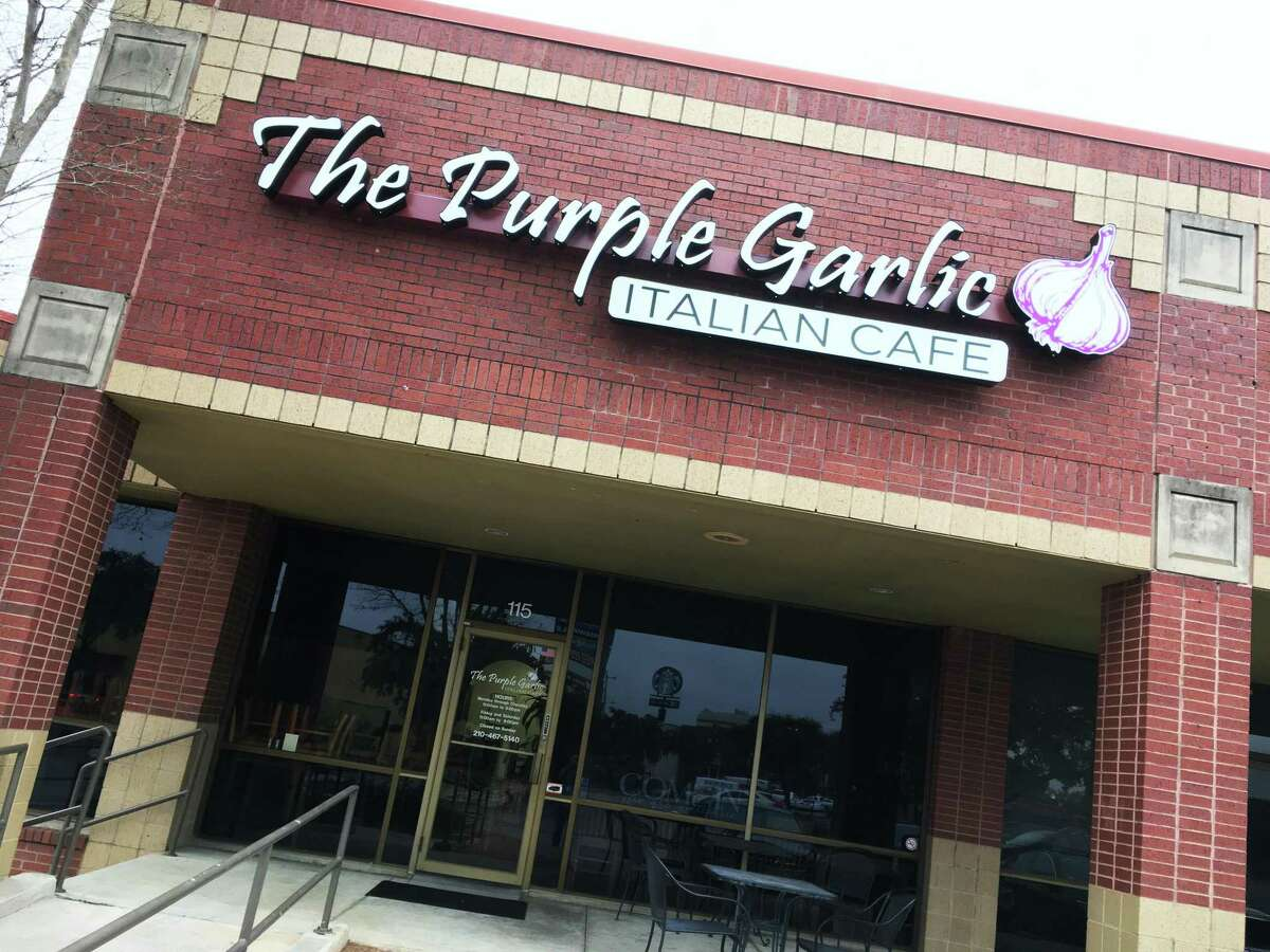 The Purple Garlic Italian Cafe is now open in Hollywood Park at 15909 San Pedro Road, Suite 115.