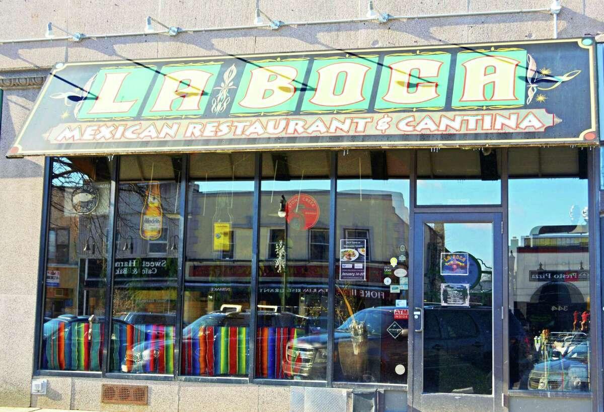 La Boca Mexican restaurant on Main Street in Middletown