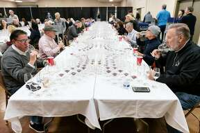 The 2020 San Francisco Chronicle Wine Competition at the Cloverdale Citrus Fairgrounds in Cloverdale, California, Friday, January 10th, 2020.