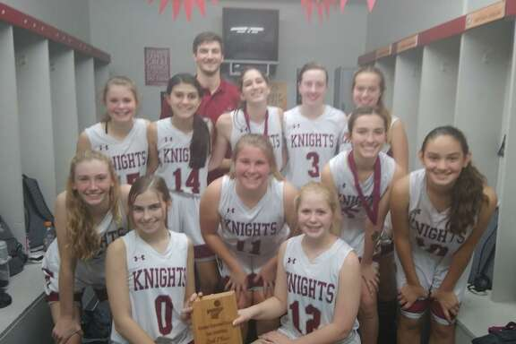 The Kingwood Covenant Preparatory Lady Knights 2019-2020 team