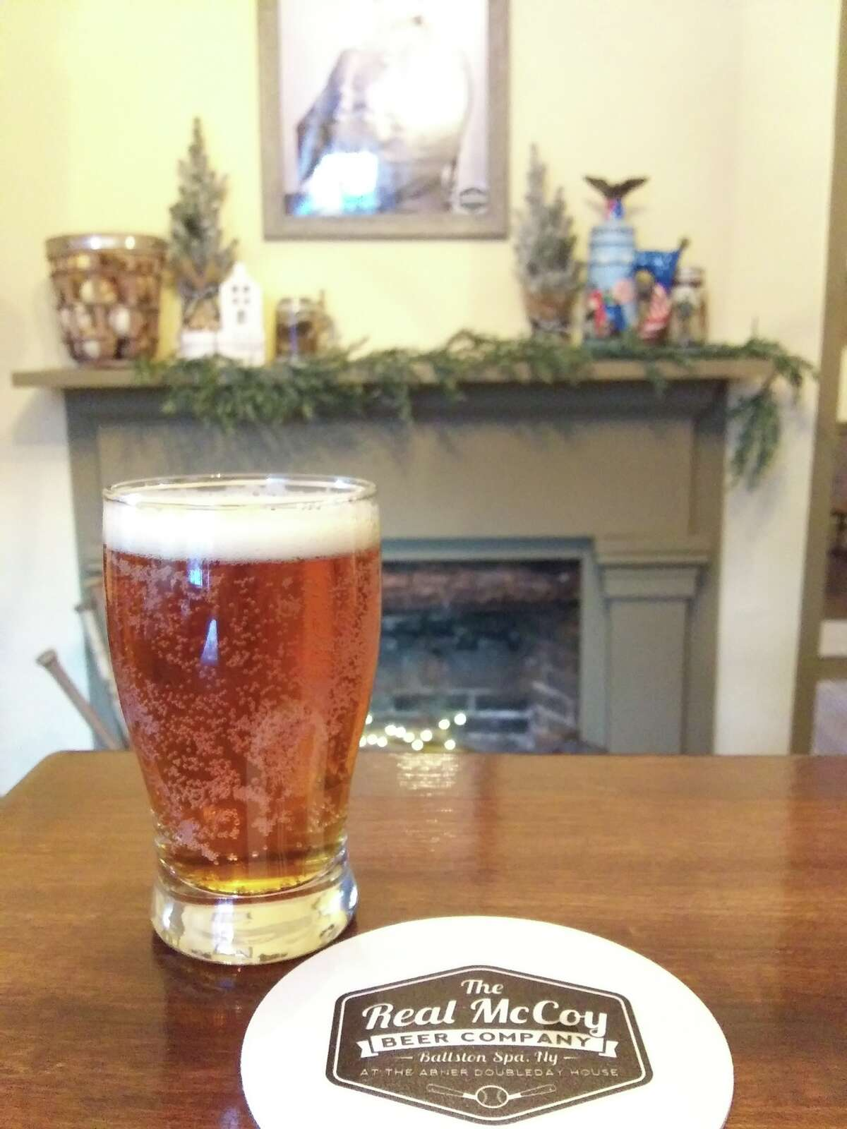 The Real McCoy Beer Co., founded as a microbrewery in Delmar in 2015, recently established a taproom in Ballston Spa's historic Abner Doubleday House,