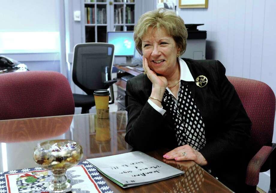 Ridgefield Interim Superintendent of Schools, JeanAnn Paddyfote. Photo: Carol Kaliff / Hearst Connecticut Media / The News-Times