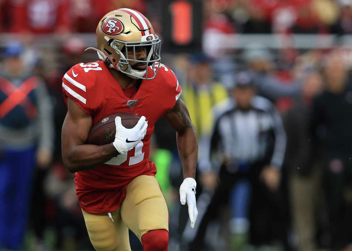 San Francisco 49ers running back Raheem Mostert is requesting a trade, his agent says.