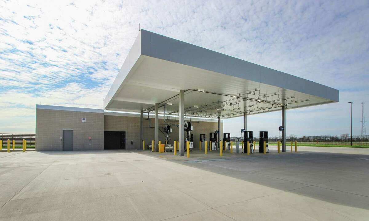 The new transit center facility will allow the county to combine its transportation functions into a single location for improved efficiency and service.