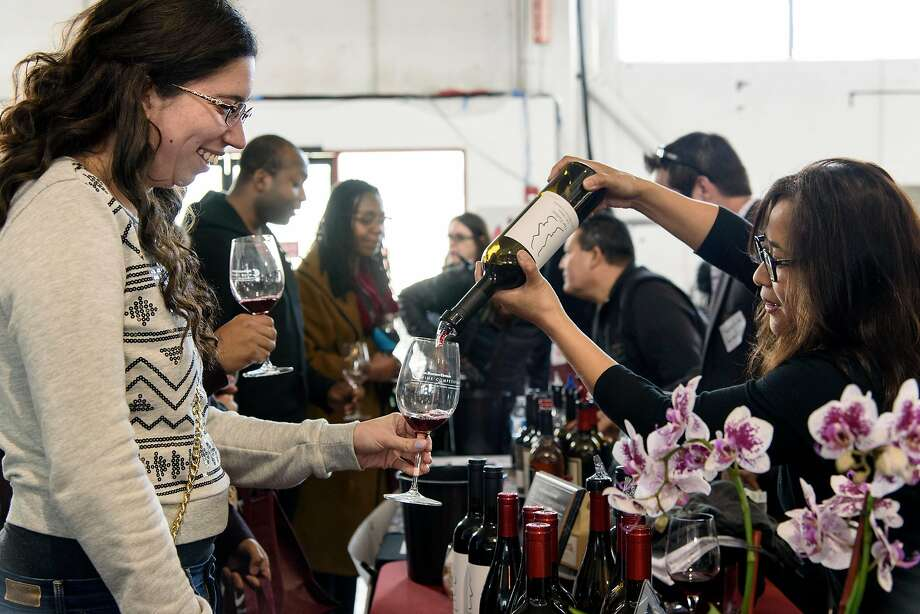 The 20th anniversary of the San Francisco Chronicle Wine Competition Public Tasting will be held from 1 to 4:30 p.m. on Feb. 15 at Fort Mason Center. Photo: Michael Short