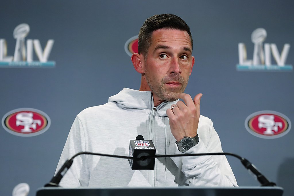 Kyle Shanahan was on the sideline for 49ers`...