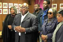 The family of Mubarak Soulemane and local clergy sought to meet with West Haven Mayor Nancy Rossi and Police Chief Joseph Perno.