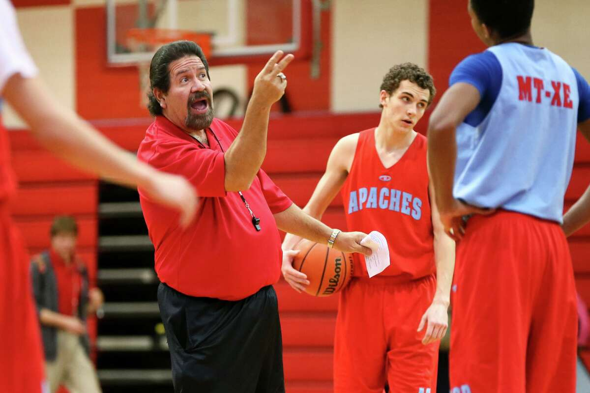 Antonian boys basketball coach Rudy Bernal earned his 700th career victory in the Apaches' 66-58 win over Central Catholic.