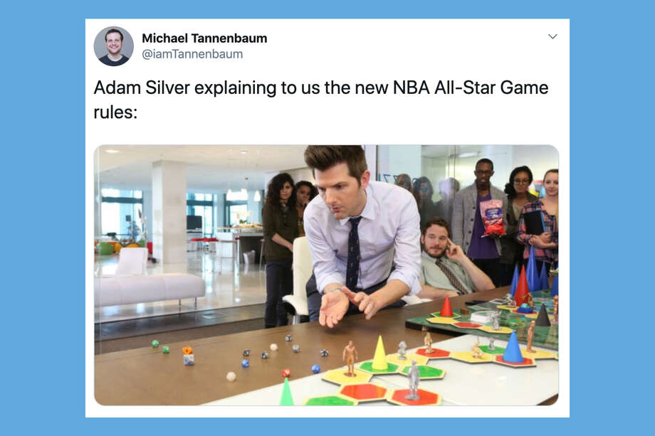 Everyone, and especially Twitter, is confused by the NBA's new All-Star Game format and Kobe tribute. Photo: Via Twitter
