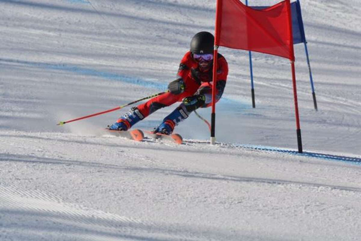 Matt Sisca, a junior, has helped lead the Greenwich High School girls skiing team to a record of 16-3.