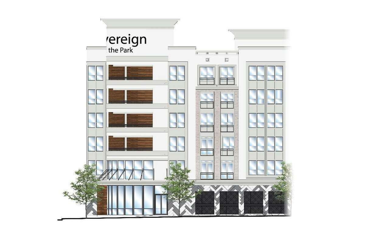 Sovereign at the Ballpark will have 229 apartment units.