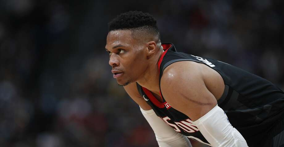 PHOTOS: Rockets game-by-game Houston Rockets guard Russell Westbrook (0) in the second half of an NBA basketball game Sunday, Jan. 26, 2020, in Denver. The Nuggets won 117-110. (AP Photo/David Zalubowski) Browse through the photos to see how the Rockets have fared in each game this season. Photo: David Zalubowski/Associated Press