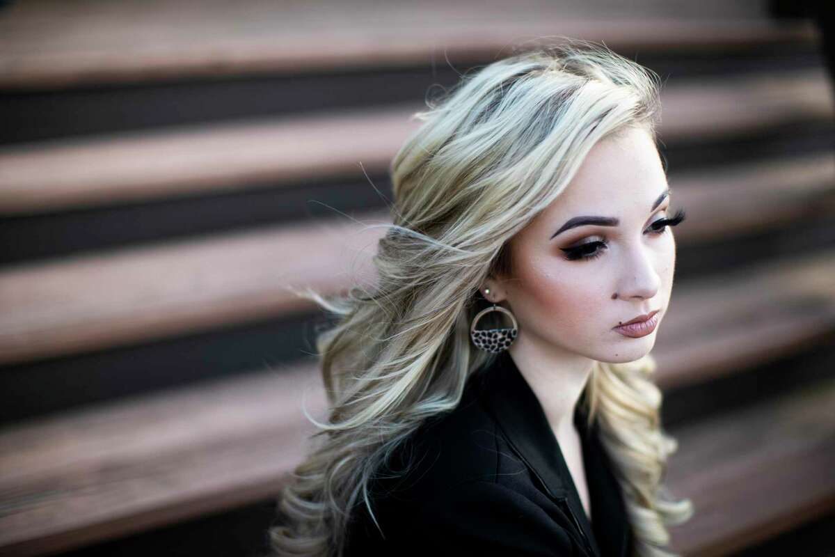 Courtney Litvak, 21, is a human trafficking survivor from Katy. Litvak and her mother, Kelly Litvak, run a nonprofit called Childproof America that offers trainings for schools and families on how to prevent children from getting pulled into trafficking.