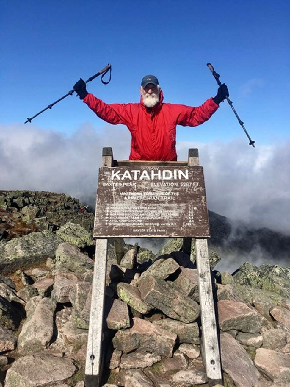 Troy resident Carl Klinowski, whose trail name was