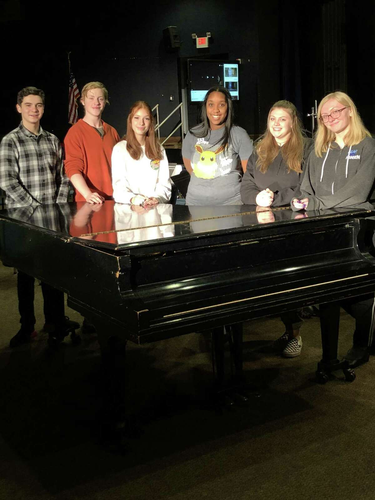 """Catskill, NY a€?"""" January 27, 2020 a€?"""" Six students from Catskill High School have been selected for the 2020 High School Honors Performance Series at Carnegie Hall. Elisha Clause, Matthew Caro, and Grace McCulloch will perform with the Mixed Choir, while Deandra Catterson, Isabella Truncale, and Ava Higgins will perform with the Women's Choir this February. Participation in these Honors Ensembles is limited to the highest-rated high school performers from across the world. (Photo provided)"""