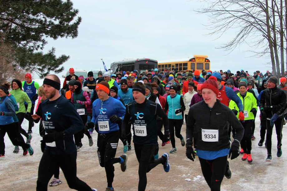 The Betsie Bay Frozen 5K is one of the signature events for the Benzie County Waterfest. (Pioneer News Network File Photo)