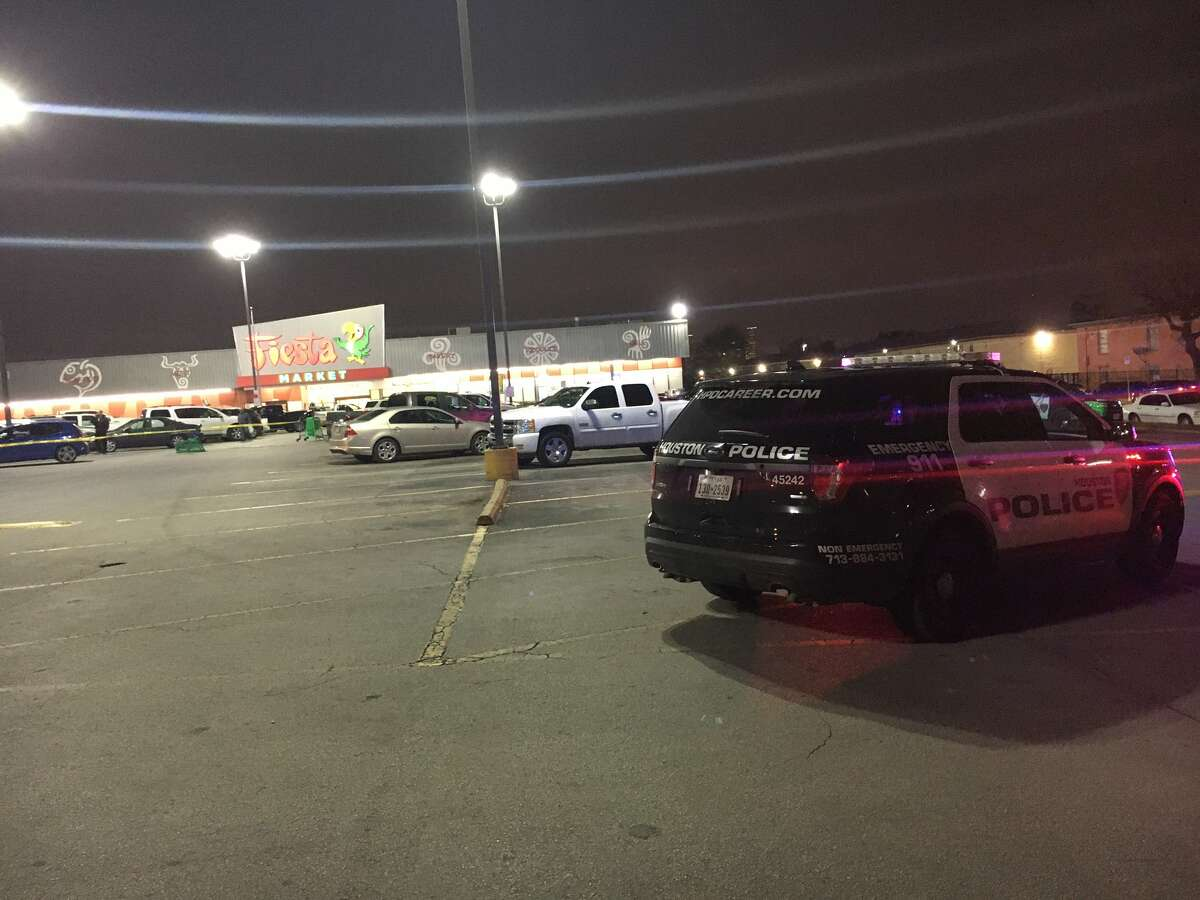A shooting on Thursday left a man dead in a Fiesta Mart parking lot in Houston's East End, according to police.